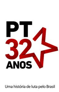 PT 32 anos de Luta ao lado dos trabalhadores