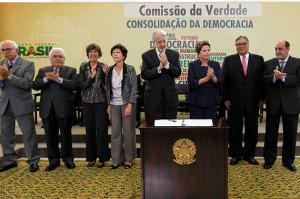 Brasília - DF, 16/05/2012. Presidenta Dilma Rousseff durante cerimônia de Instalação da Comissão Nacional da Verdade, no Palácio do Planalto Foto: Roberto Stuckert Filho/PR.