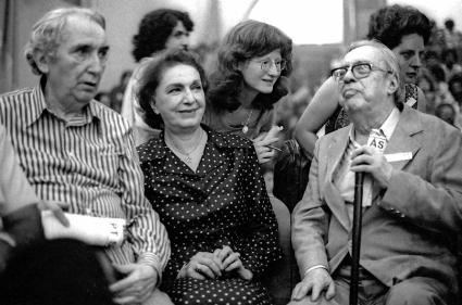 Encontro Nacional de Funda‹o do Partido dos Trabalhadores, ColŽgio Sion. S‹o Paulo. Foto de Juca Martins. Data: 10.02.1980