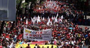 Sábado na Venezuela foi marcado por atos em defesa da Soberania do país. Foto: AVN/Telesur